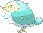 Pahario, the Pepper Bird Pokemon