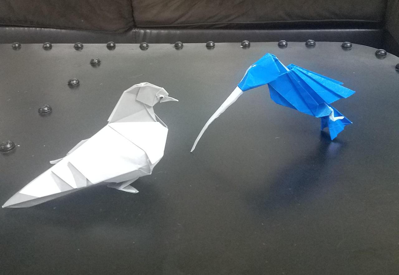 Origami Hummingbird   Origami Made Simple   882x1280