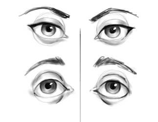 Eye Practice by borschtplz
