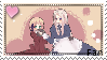 + Belarus/Liehctenstein support stamp + by KikiNaty