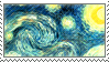 Starry Night Stamp by RAIDEO-MARS