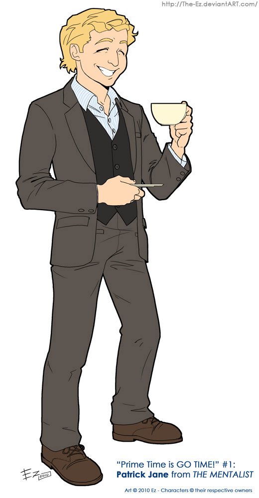 "Patrick Jane - ""The Mentalist"" by The-Ez"