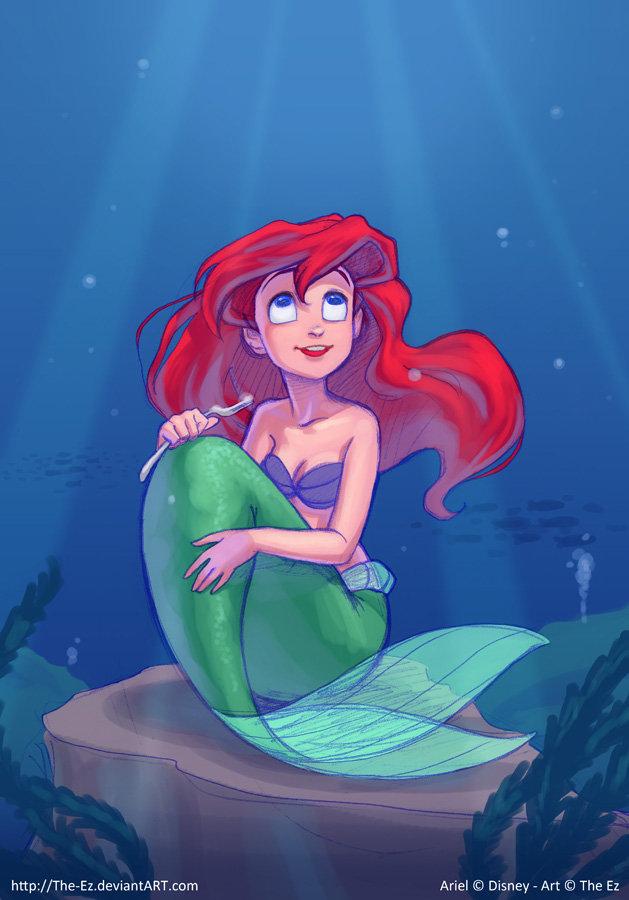 Ariel Fan Art by The-Ez