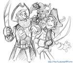 The Pirates! Fan Art Sketch