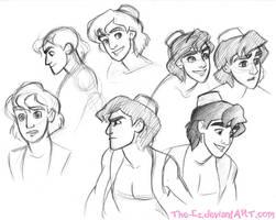 Aladdin Sketch Dump by The-Ez