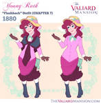 Young Ruth Costume Designs - 1880 Flashback