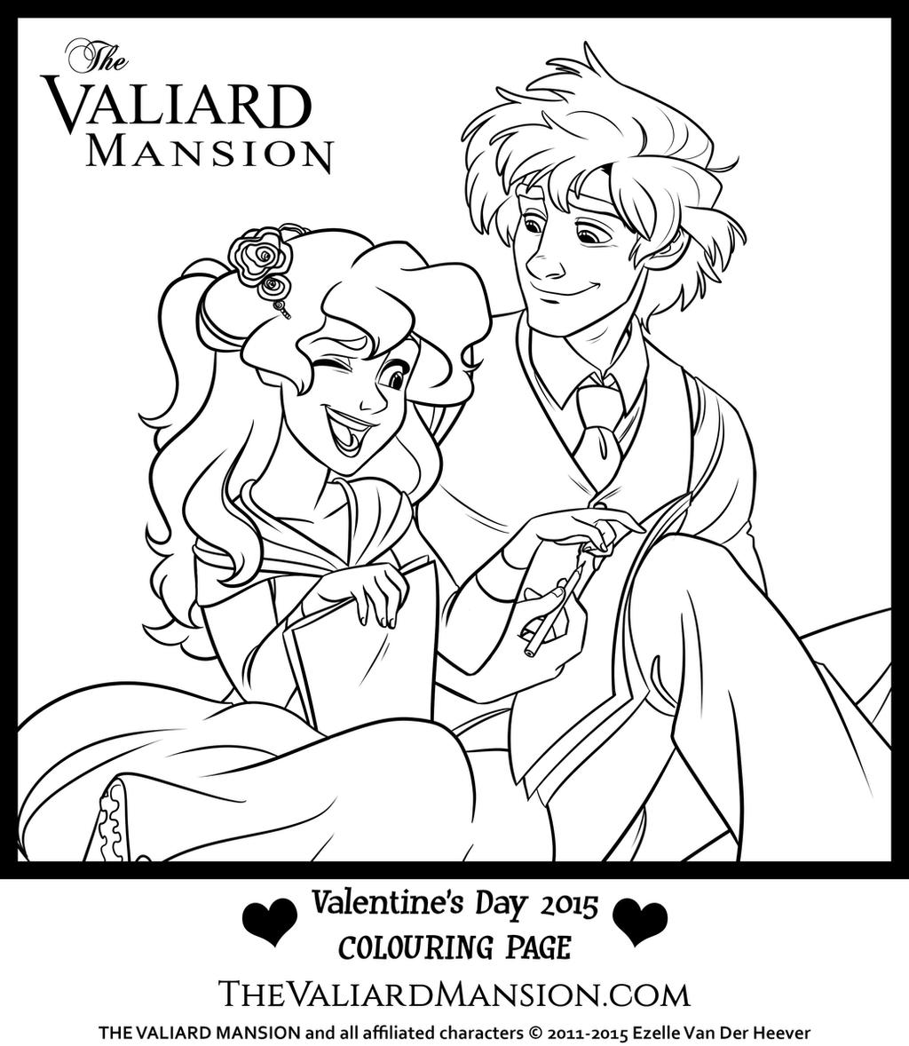 ruth and theodore colouring page by the ez on deviantart
