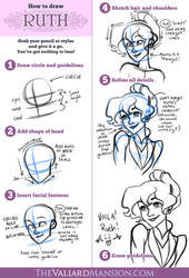 How to Draw Ruth - Valiard Valentines 2015