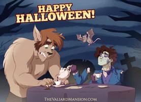 HAPPY HALLOWEEN from the Valiard Boys!