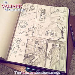 Valiard novel Illustrations Preview by The-Ez