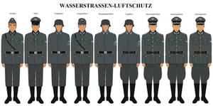 Wasserstrassen-luftschutz Uniforms (1942-1945)