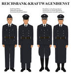 Reichsbank-Krafwagendienst Uniform