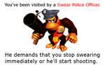 Swear Police Officer