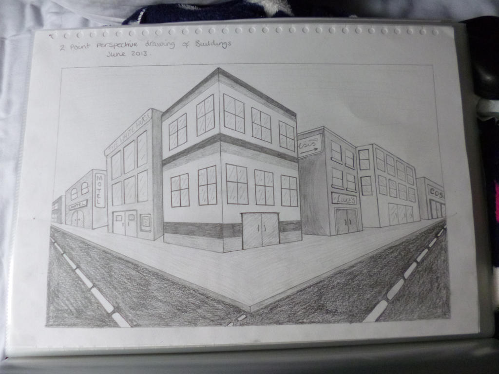 Two Point Perspective Buildings Pictures To Pin On