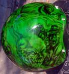 Airbrush Zombies helmet 4