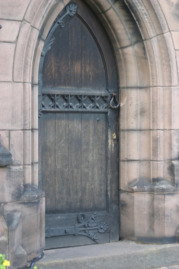 Stock : Church Doorway by DistortedSmileStock