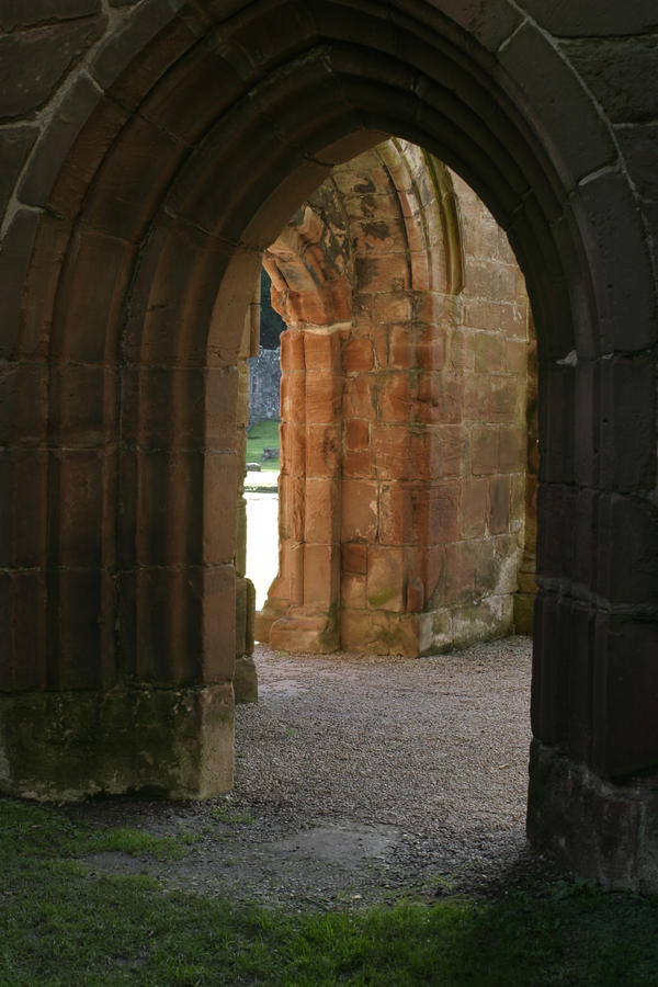 Stock : Abbey Doorway by DistortedSmileStock