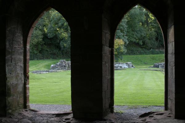 Stock : Abbey Twin Doorways by DistortedSmileStock