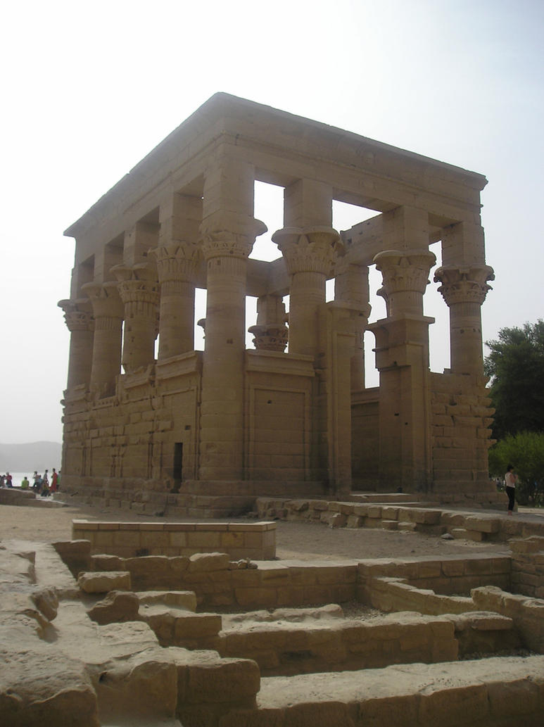 Stock : Temple by DistortedSmileStock