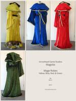 Magicka Mage Robes by TorturedChicken