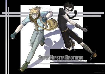 Super Hipster Brothers by TorturedChicken