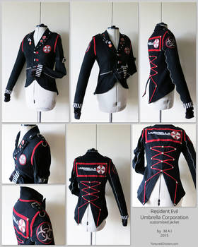 Umbrella Corp. custom jacket