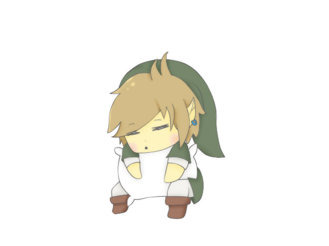 sleepy link by 3D-BITES