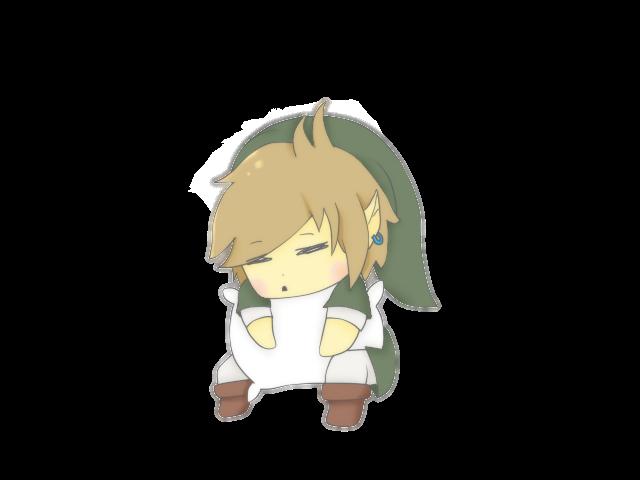 sleepy link by 3D-BITES