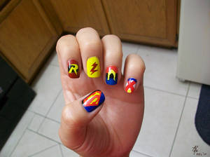 YJ: Painted Nails