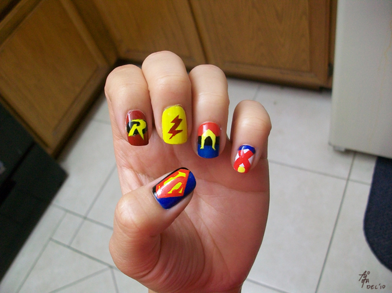 YJ: Painted Nails by aimoia on DeviantArt