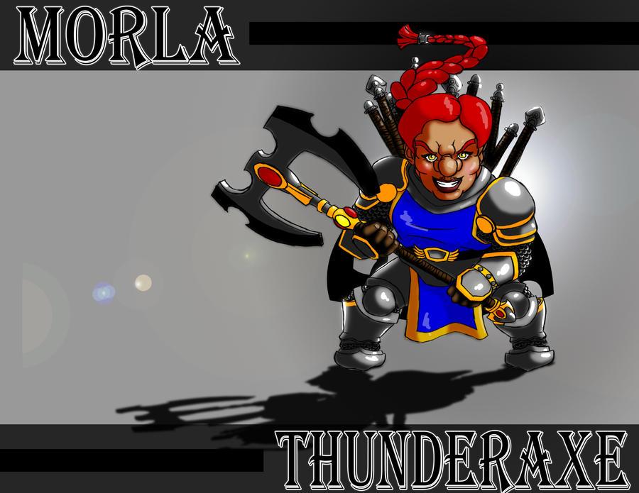 Morla Thunderaxe by Xprinceofdorknessx