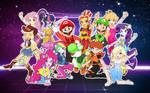 The Super Mario Rainbooms!