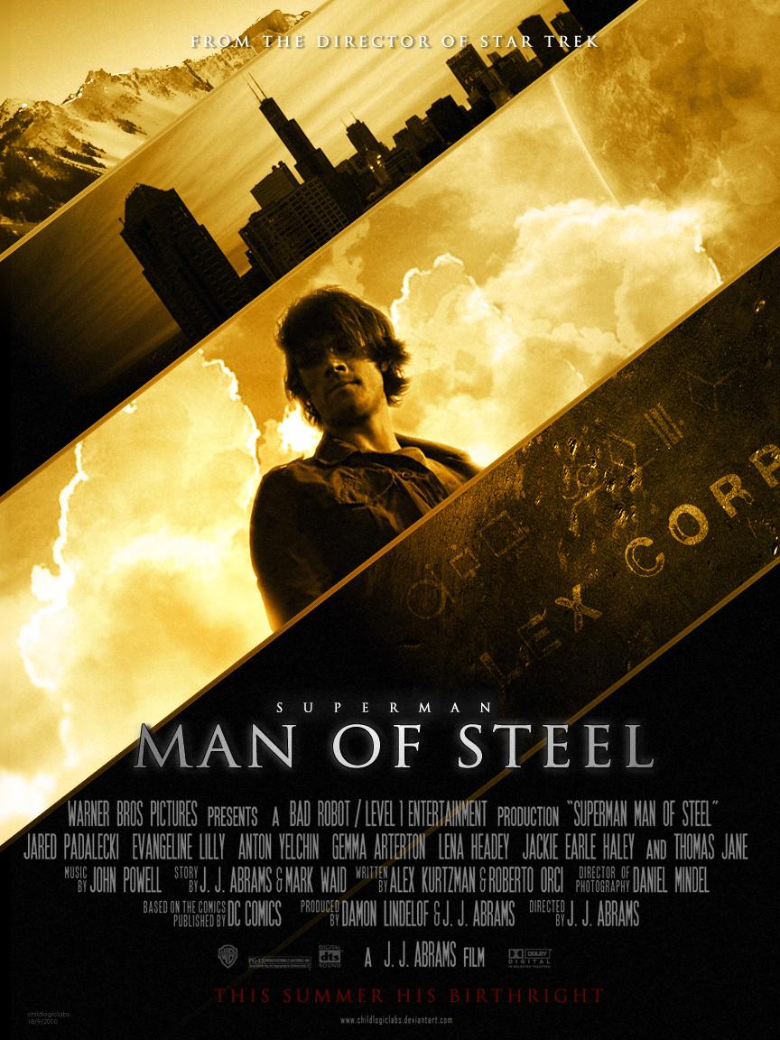 Man Of Steel POSTER-3 v2