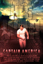 Captain America MOVIE POSTER 2 by childlogiclabs