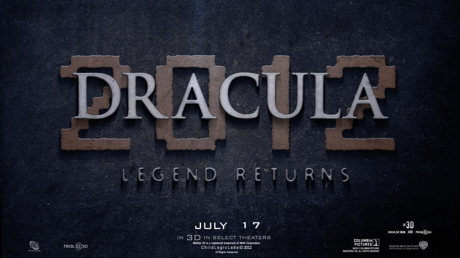 Dracula 2012 Teaser Movie Poster by childlogiclabs