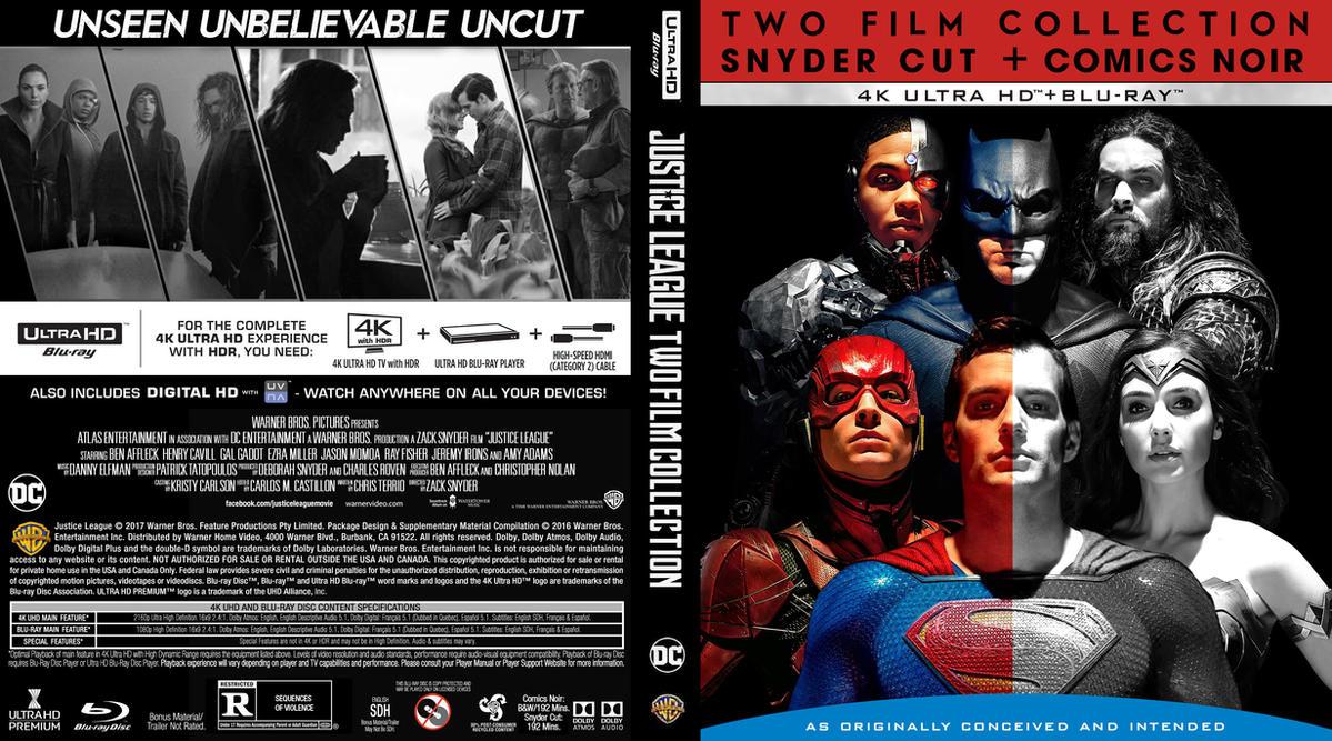 JLA Comics Noir Blu-ray cover by childlogiclabs