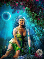 X-painted|Rogue In Savage Land by childlogiclabs