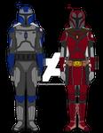 Zed and Rina Mandalorian Disguises 18BBY