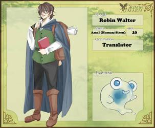 [Grimm Almaria] Robin Walter by Paey