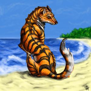 Tiger Wolf by Martrochs