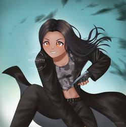 [COMMISSION] Kira Knight (2) by NutnutYe