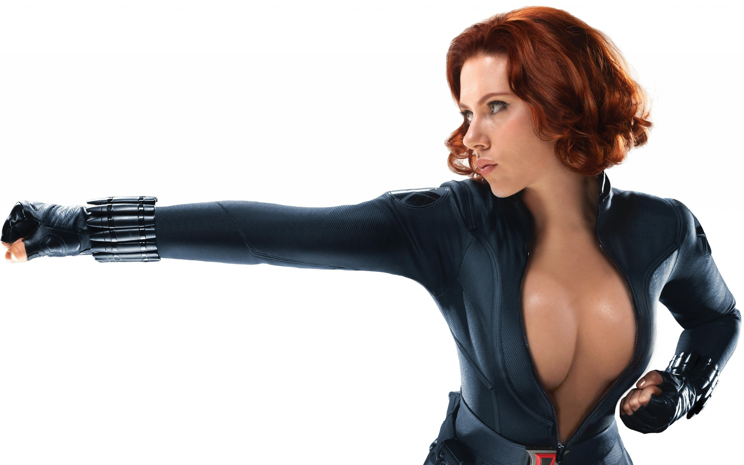 Black widow hot naked cosplay sex beauty pornstar