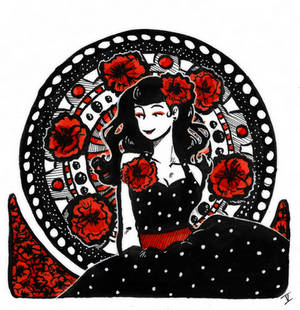 She of the Poppies