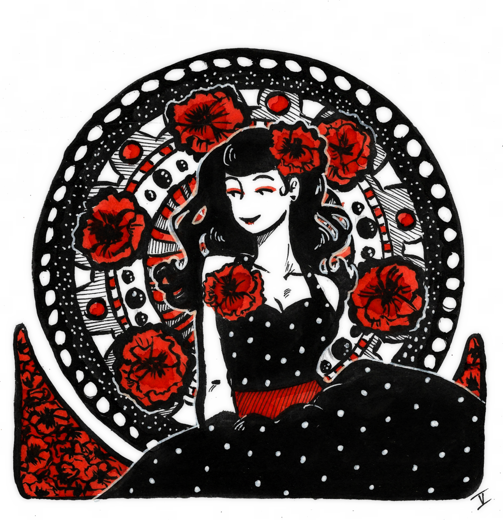 She of the Poppies by mirupants