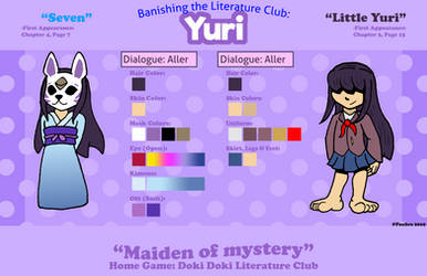 BTLC - Yuri Character Reference Sheet by Foalies