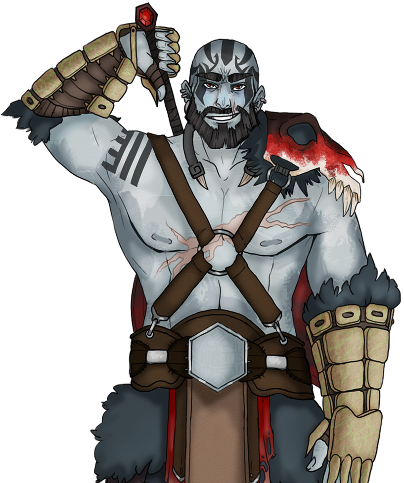 Critical Role: Grog Strongjaw by Anonymous-Nerdling