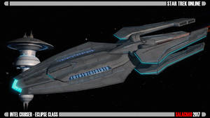 Intel Cruiser - Eclipse Class by Salacnar