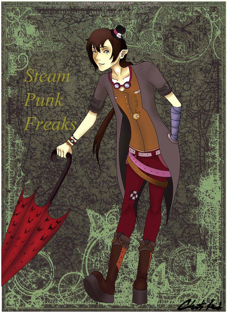 Steam Punk Freaks by DragonSmurf