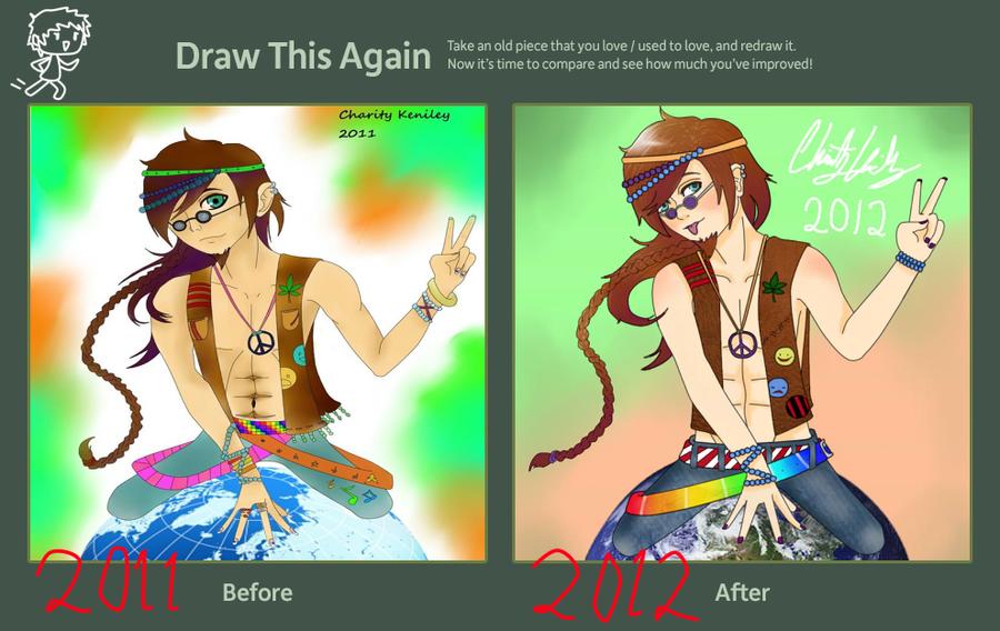 Draw This Again Meme -Father Earth- by DragonSmurf