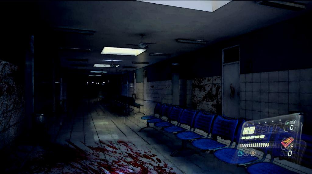 Dark Waiting Room - Resident Evil 6 Background by EvanTenkatsu5